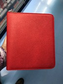 AGENDA MR Zip Lucca plus,anillas rojo